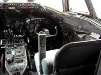 Photo of the cockpit of CF-THG