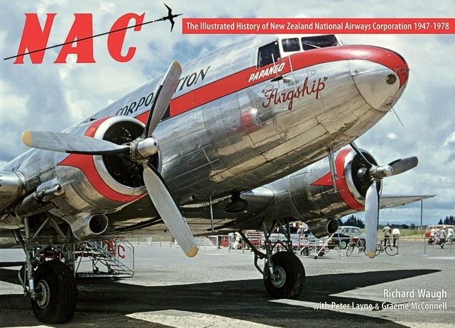 Photo of the cover of The Illustrated history of New Zealand National Airways Corporation 1947 - 1978