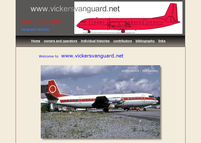 The Vickers Vanguard Network