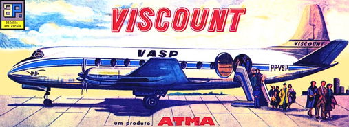 Christian Bryan restoration of the Atma VASP Viscount kit box