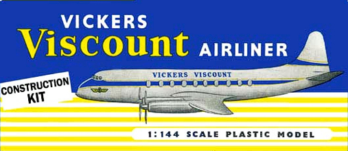 Christian Bryan restoration of the Sebel Vickers Viscount kit box