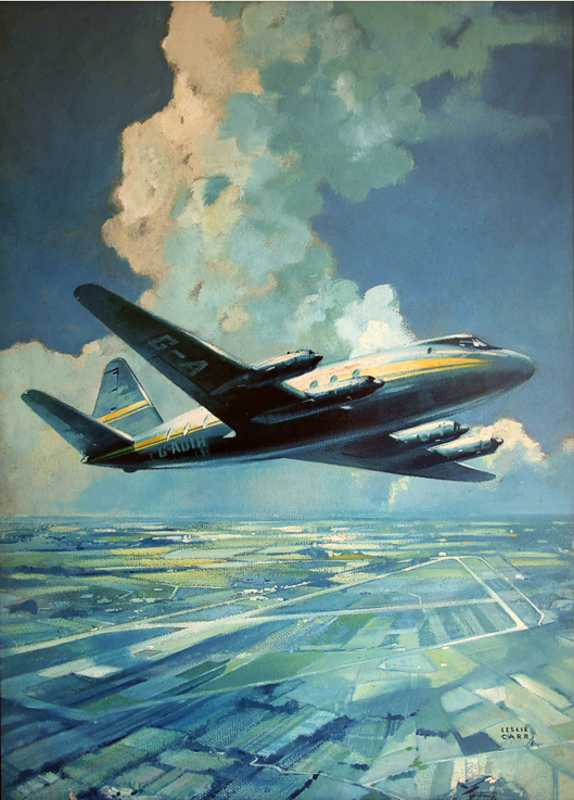 Lesley Carr painting of a Viscount