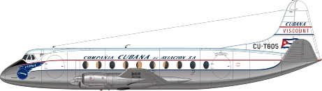 Nick Webb illustration of Cubana Viscount CU-T605