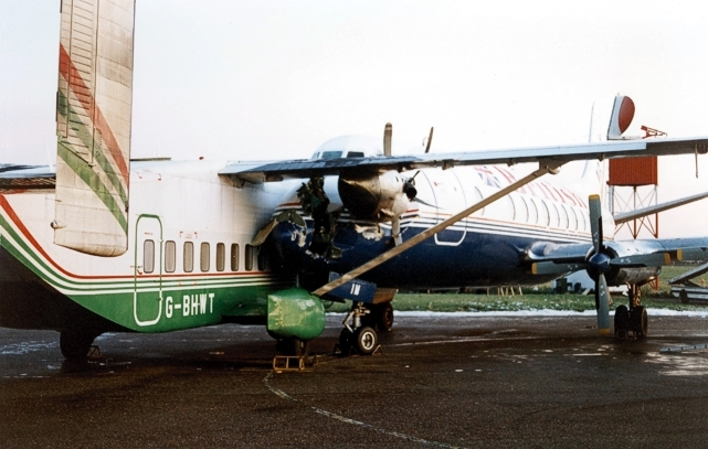 BAF - British Air Ferries Viscount G-APIM