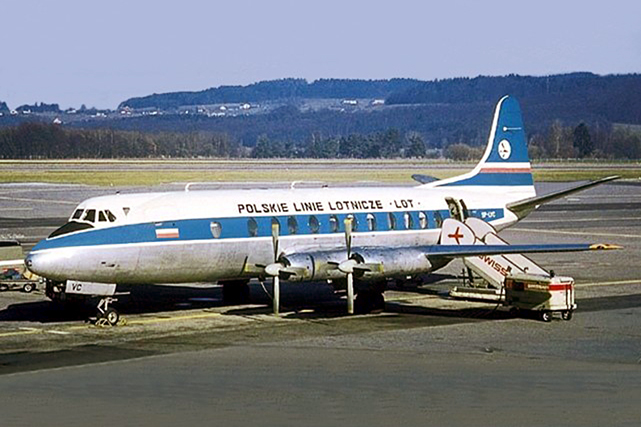 LOT - Polskie Linie Lotnicze Viscount c/n 248 SP-LVC that became ZK-NAI