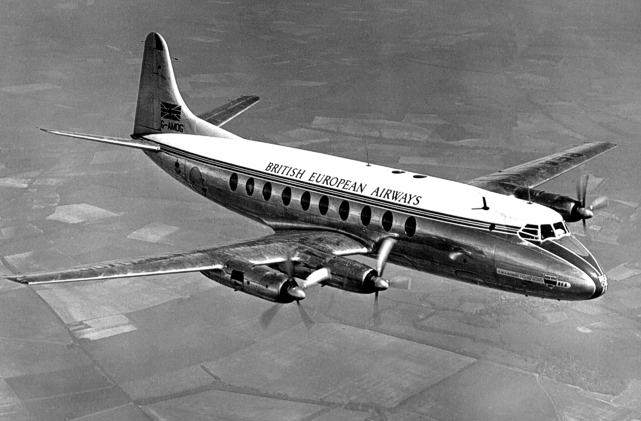 BEA - British European Airways Viscount c/n 7 G-AMOG
