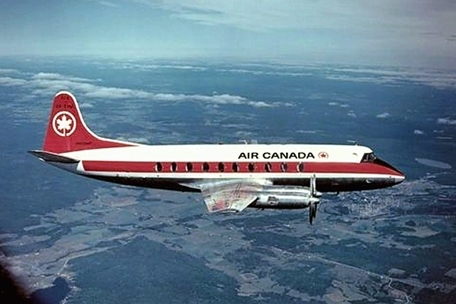 Air Canada Viscount c/n 301 CF-THJ