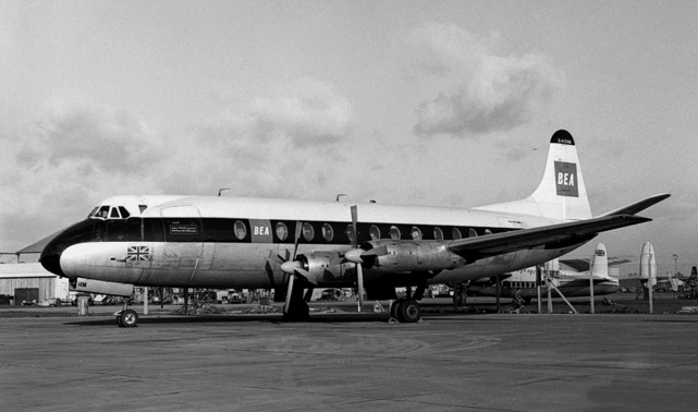 Photo of British European Airways Corporation (BEA) Viscount G-AOHM c/n 162