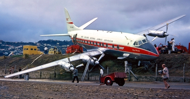Photo of NAC - New Zealand National Airways Corporation Viscount ZK-BWO