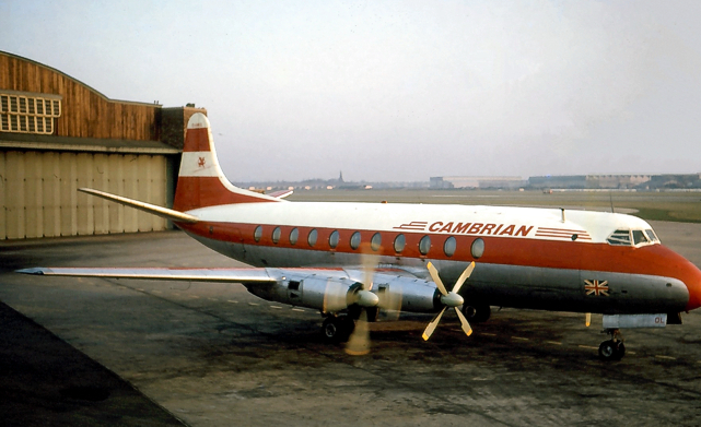 Photo of Cambrian Airways Viscount G-AMOL c/n 25