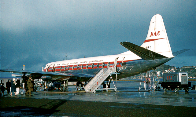 Viscount c/n 281 ZK-BRD