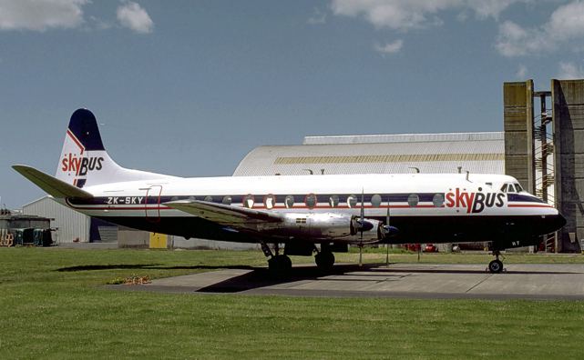 Viscount c/n 168 ZK-SKY