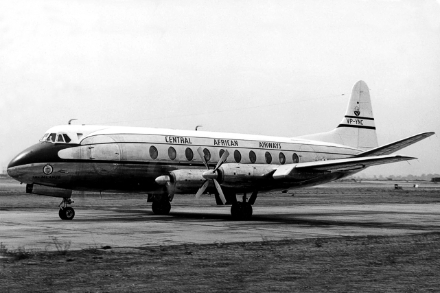 CAA - Central African Airways Viscount c/n 100 VP-YNC