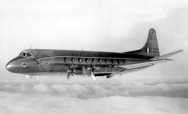 Production Viscounts were originally fitted with either the Mark 505 RDa3 or the Mark 506 RDa3 engines