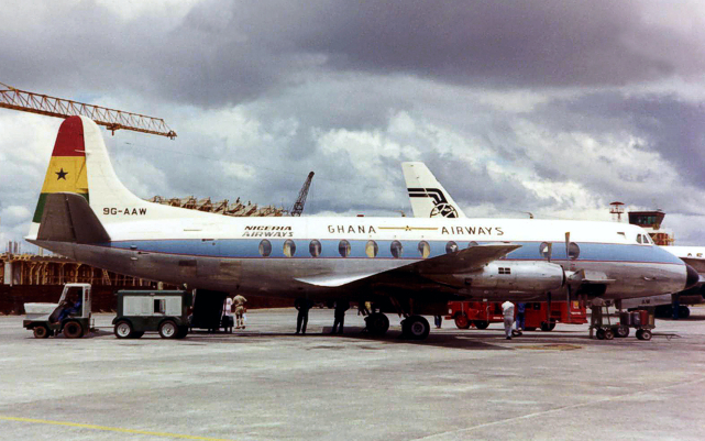 Viscount c/n 372 9G-AAW