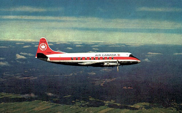 Air Canada Viscount c/n 224 CF-THG