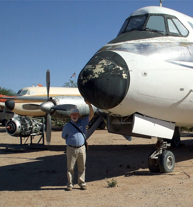 The Pima Air and Space Museum Viscount c/n 40 N22SN