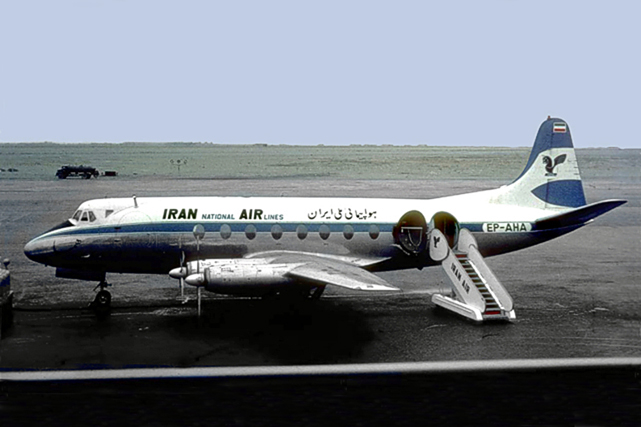 United Iranian Airlines Viscount c/n 297 EP-AHA
