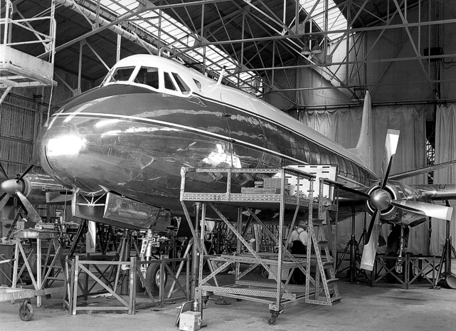 Vickers-Armstrongs (Aircraft) Ltd Viscount c/n 88 G-APKJ