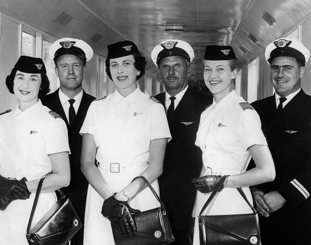 Royal Flight crew