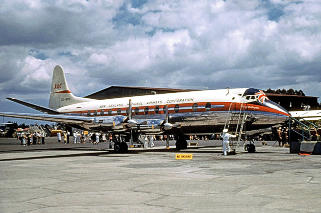 New Zealand's first Viscount c/n 281 ZK-BRD City of Wellington