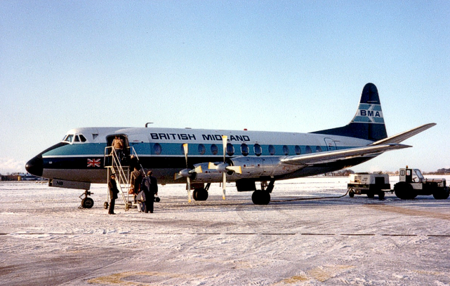 Photo of BMA - British Midland Airways Viscount G-AZNB