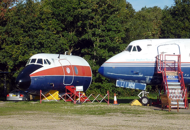 Brooklands Museum Viscount c/n 438 XT575