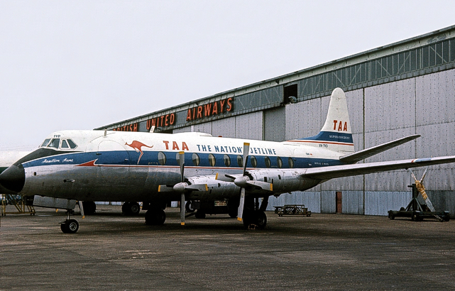 TAA - Trans-Australia Airlines Viscount c/n 47 VH-TVD