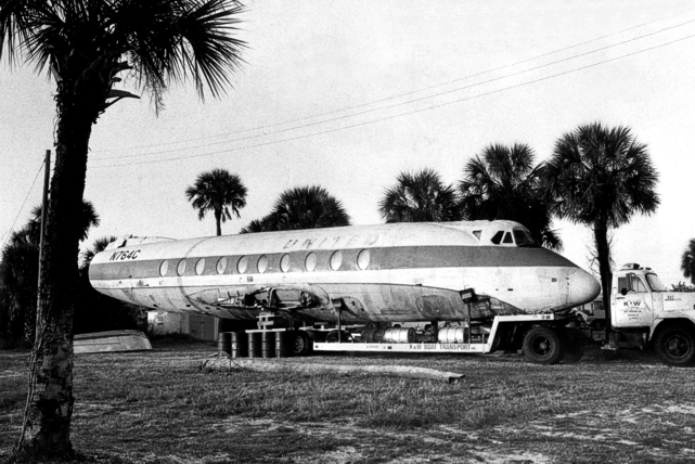 Viscount c/n 104 Fuselage