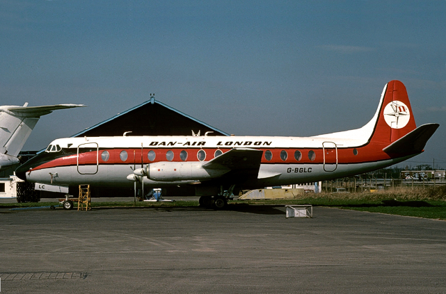 Photo of Dan-Air London Viscount G-BGLC
