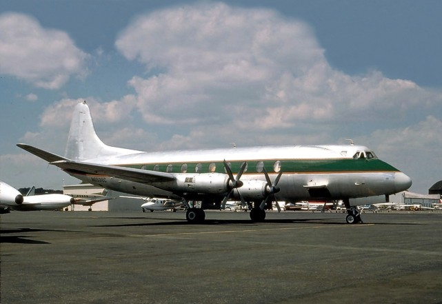 Go Transportation Inc. Viscount c/n 392 N6598C / N200RC taken at the time that the film 'The Rose' was made