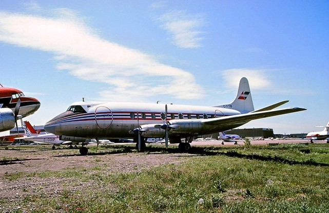 Beaver Enterprises Viscount c/n 310 C-FTIB