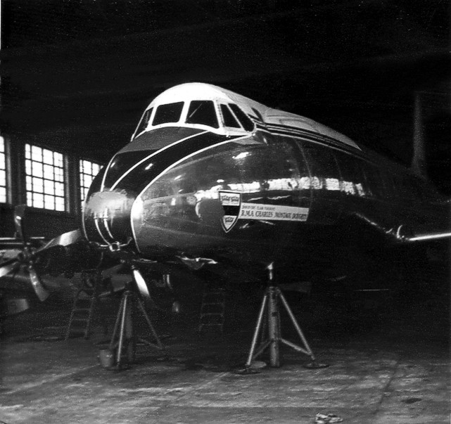 Photo of British European Airways Corporation (BEA) Viscount G-AOHI c/n 158