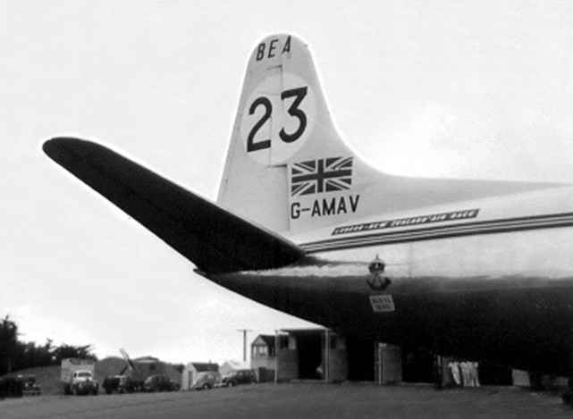 Photo of BEA - British European Airways Corporation Viscount G-AMAV c/n 3