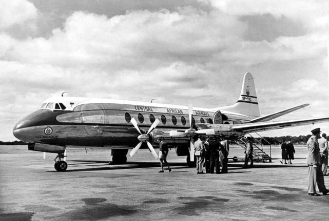 Photo of Central African Airways (CAA) Viscount VP-YNC