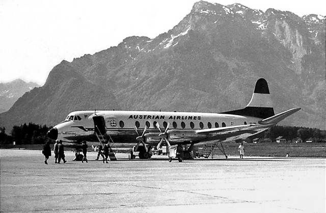 OE-LAG AUA - Austrian Airlines - February 1960 to May 1964