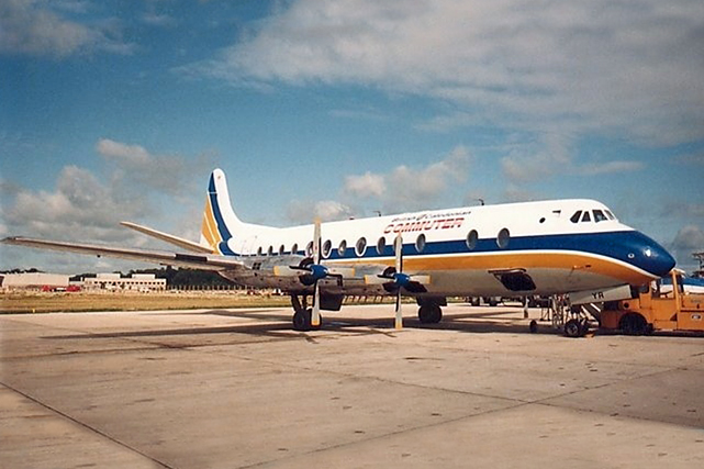 British Caledonian Airways Viscount c/n 266 G-AOYR