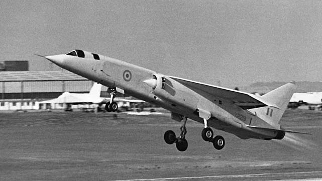 BAC - British Aircraft Corporation TSR 2 supersonic strike aircraft