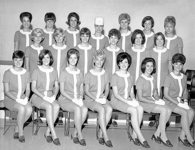 Beth Krzaczek Stewardess Class of August 1968