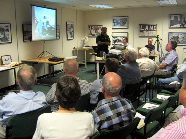 Brooklands Viscount Day presentations