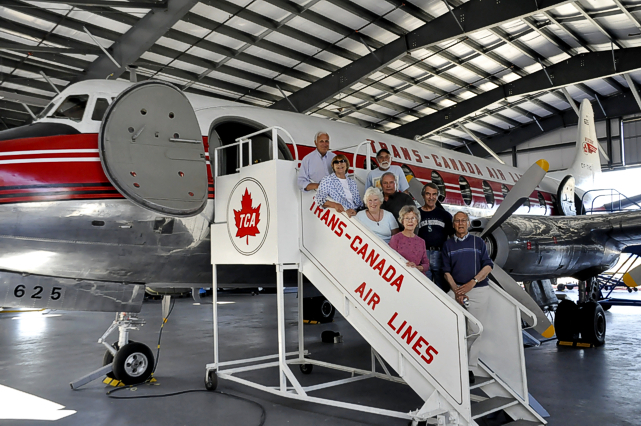 Norm Hogwood and the guys at the British Columbia Aviation Museum