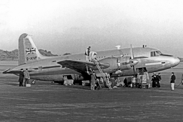Vickers VC-1 Viking, Vickers' first stressed-skin aeroplane to go into production