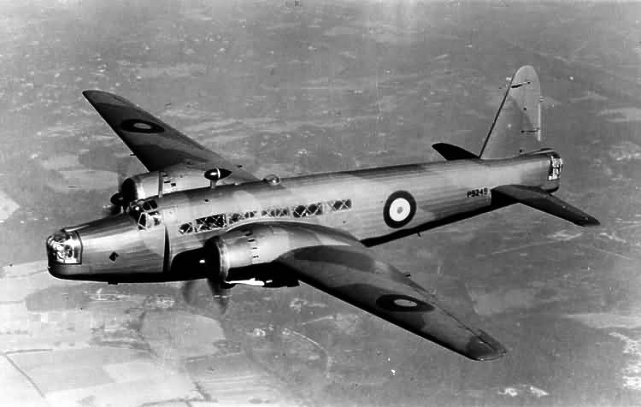 Vickers-Armstrongs Wellington bomber