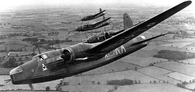 Vickers Wellington, the mainstay of RAF Bomber Command during the first years of the Second World War