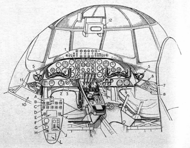 Viscount prototype cockpit