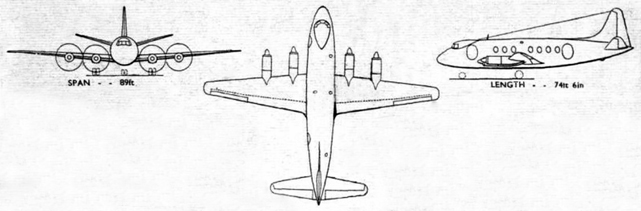 Viscount prototype drawing
