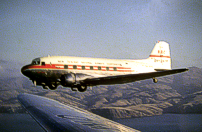 New Zealand National Airways Corporation DC-3 ZK-AYZ.