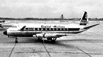 Photo of Capital Airlines (USA) Viscount N7406