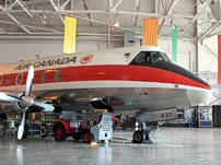 Royal Aviation Museum of Western Canada Viscount c/n 279 CF-THS