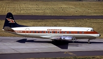 Photo of Cambrian Airways Viscount G-AOYG c/n 256 August 1971